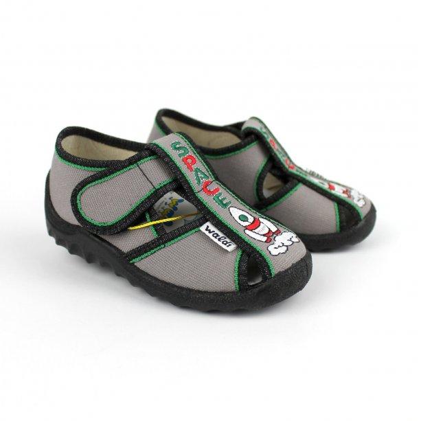 Детские текстильные туфли тапочки для мальчика Ракета тм Waldi
