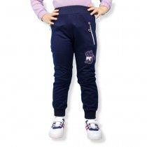 Детские штаны на девочку Кот на манжетах тм S&D