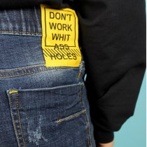 Детские джинсы для мальчика темно синие тм S&D Jeans