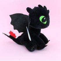 Игрушка Дракон Беззубик из плюша Копиця