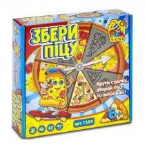 Настольная игра Собери пиццу тм Fun Game для детей и взрослых