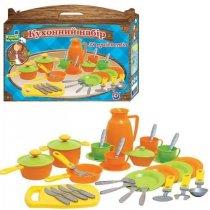 Детская игрушка Кухонный набор на 4 персоныТехнок  KM3275