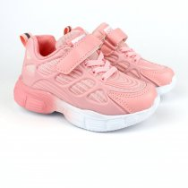 Легкие кроссовки для девочки тм Tomm розового цвета
