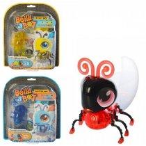 Игрушка Конструктор 6501  насекомое 8см(свет, ходит), 25дет, 3вида, на бат(таб), в слюде, 25,5-21-4см