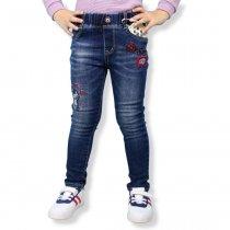 Детские джинсы для девочки Котик тм S&D