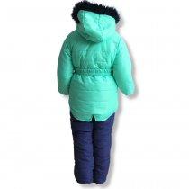 Зимняя Куртка и штаны для девочки, комплект на зиму