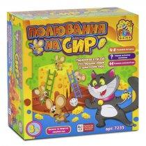 Настольная игра Охота на сыр тм Fun Game для детей и взрослых