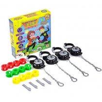 Настольная игра Шпионский код, Миссия Наручники  тм Fun Game для детей и взрослых
