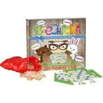 Всезнайка настольная интелектуальная игра русский яз, в коробке тм STRATEG для детей и взрослых