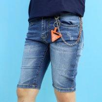 Шорты джинсовые для мальчика с брелком тм S&D