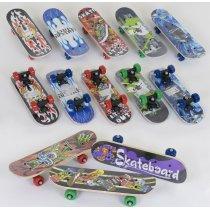 Детский Скейт 8 видов, колесо d=5 cm, PVC, длина доски=43см