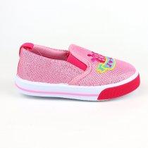 Розовые текстильные Мокасины для девочки с вышивкой тм Том.м