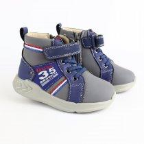 Демисезонные ботинки для мальчика на липучке тм Том.м