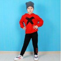 Детский костюм двойка для мальчика X красный тм Benini