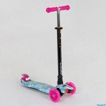 Детский Самокат Best Scooter MAXI Ромашки для девочки
