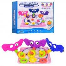 Настольная игра кольцеброс, кольца, игровое поле, в кор-ке, 31,5-26-8,5см для детей