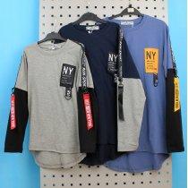 Футболка с длинным рукавом New York City тм Fashion Wear