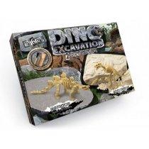 Набор для проведения раскопок DINO EXCAVATION динозавры укр. KMDEX-01-04,05,06