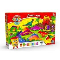 Тесто для лепки Master Do Динозавры тм Danko Toys KMTMD-10-04