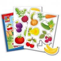 Игра настольная Мой маленький мир Фрукты, Овощи, для детей