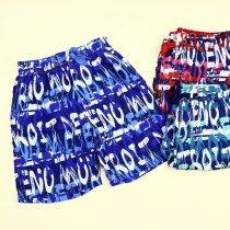 Разноцветные пляжные шорты для мальчика тм Glassbear