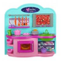Мебель кухня, посуда, свет, бат., Кор., 31-31-10 см.