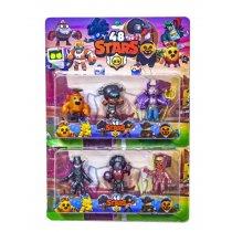 Игровой набор герои Brawl Stars 48 сезон
