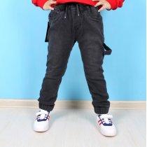 Детские джинсы джоггеры для мальчика серые тм Resser Denim
