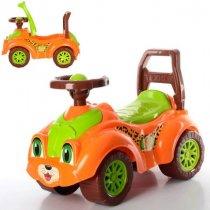 Машинка толокар Автомобиль для прогулок тм ТехноК оранжевый KM3268