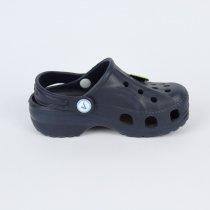 Детские темно-синие кроксы детская летняя обувь тм Виталия Crocs