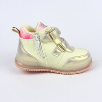 Демисезонные Ботинки для девочки серые тм BiKi