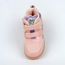 Ботинки демисезонные для девочки розовые тм BiKi