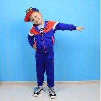 Спортивный костюм для мальчика трехнитка Setty Koop