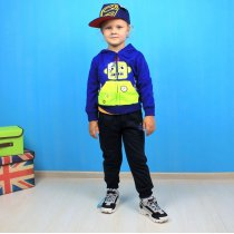 Спортивный костюм Робот для мальчика трехнитка Setty