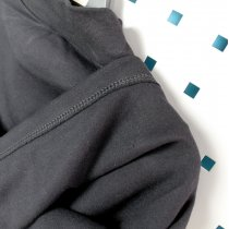 Водолазка с начесом детская Черная