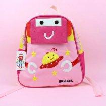 Рюкзак для девочки робот 31-28-10 см 1 отделение застежка молния 3 наружных и 1 внутренний карман