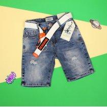 Детские джинсовые шорты для мальчика подростка
