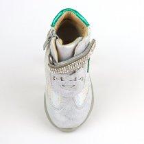 Демисезонные серебристые ботинки для девочки  тм Том.м