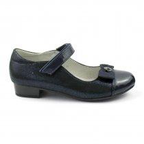 Туфли для девочки Синие с каблучком тм Том.М