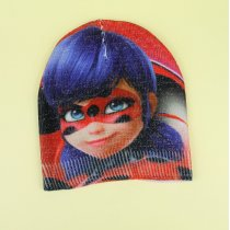 Демисезонная шапка для девочки Леди Баг люрекс тм Cerda размер 50-52