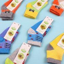 Детские носки для мальчика яркие цвета сетка тм ЕКО