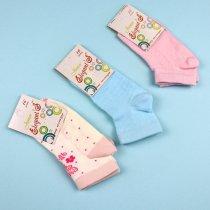 Детские носки для девочки Полосы сетка тм Елегант