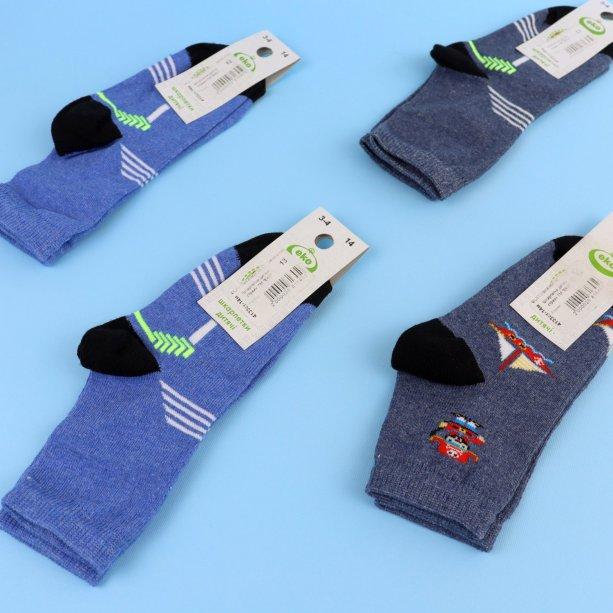 Детские носки с принтом для мальчика тм Эко размер 14
