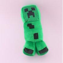 Игрушка мягкая зеленый Крипер Майнкрафт