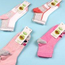 Детские носки для девочки с рисунком Котик сетка тм ЕКО