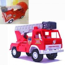 Игрушка Пожарная машина Х2 (с каской) тм Орион KM027B2
