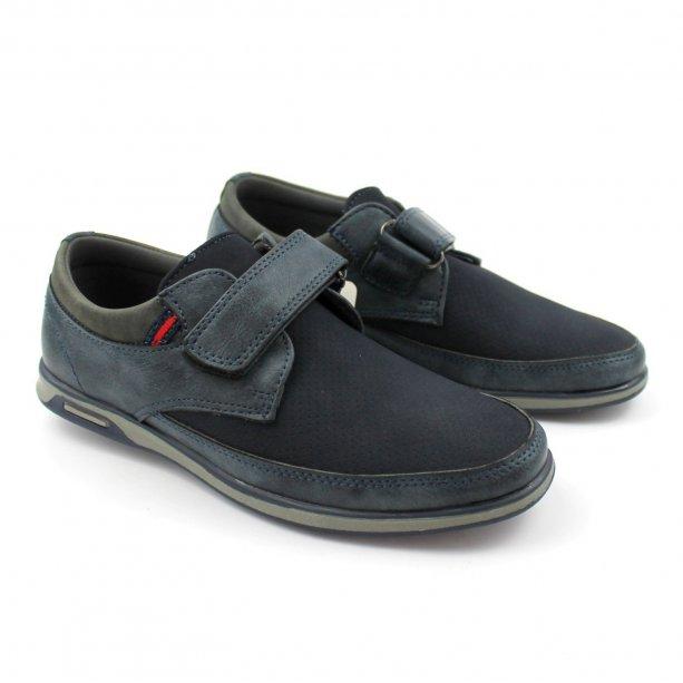 Туфли на мальчика Серые на липучке тм Том.М
