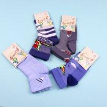 Детские носки для мальчика разноцветные сетка тм Елегант размер 16