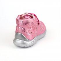 Ботинки демисезонные девочке розовые бренд Bi&Ki