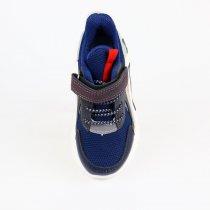 Кроссовки мигалки детские мальчику синие тм tom.m